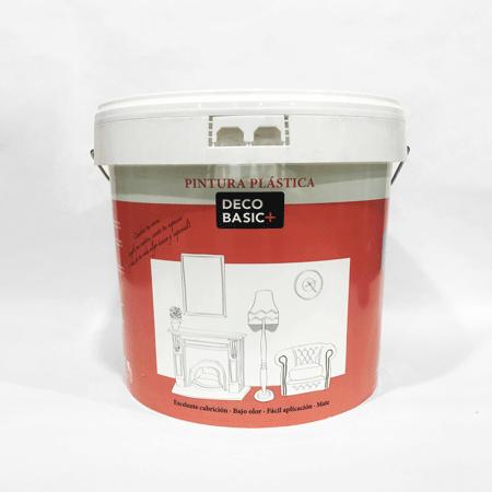 Deco basic plus bermellon - Pintura plastica blanca ...