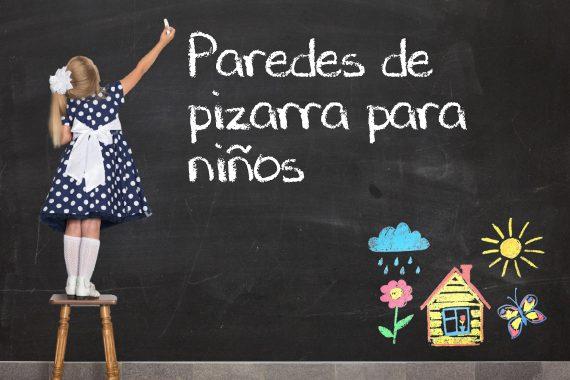PAREDES DE PIZARRA PARA NIÑOS