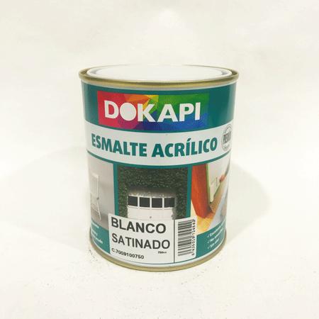 Dokapi esmalte sint tico santido bermellon - Pintura esmalte acrilico ...